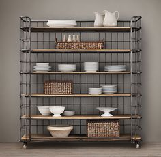 "Absolutely fabulous 71"" Baker's Rack by Restoration Hardware"