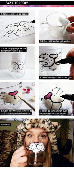 21 Maravillas que puedes lograr con una taza y un plumón