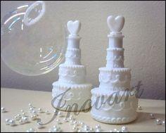 Bolhas de sabão pra saída dos noivos