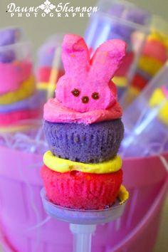 Easter Cake Push Pops