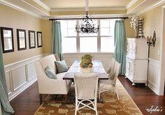 Lovely dining room decor