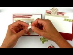 ▶ Stampin'Up O is for the Christmas Ornament Punch! - YouTube