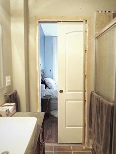 Flipping the Flip: The Master Bath Pocket Door Adventure. Part II.