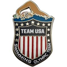 2012 Team USA Swimming Olympic Pin