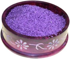 Bombay Musk Simmering Granules 200g bag (Purple). Ideal for Oil Burners, Scenting Letters, useful on ashtrays to combat tobacco smell, and for fragrancing and decorating plates. These fine fragrances are designed for specific places around your home.