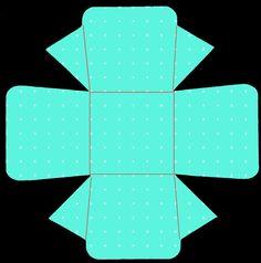 Caja turquesa