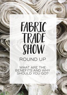 Sourcing fabrics for Fashion | Munich Fabric Start fabric trade show | Sustainable fabrics for fashion brands