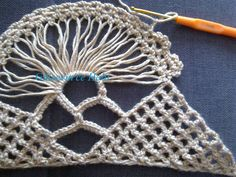 Elegante chal en la regla | Chales, estolas y bufandas