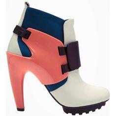 United Nude Winter Eros Boots Off white leather blend winter eros boots  from United Nude featuring dbea2448c7b