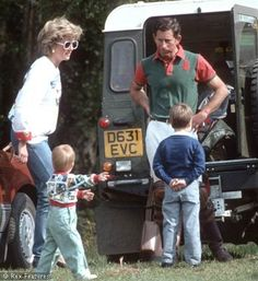 Pictures Of Princess Diana As A Wife & Mother - Sky Living HD