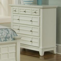 Home Styles Arts and Crafts 4 Drawer Chest
