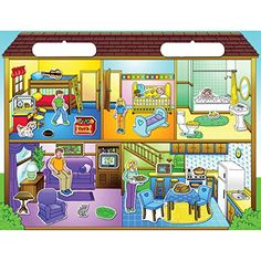 Create-A-Scene Magnetic Playset: Doll House; no. SME7107 Patch Products / Smethport / Lauri http://www.amazon.com/dp/B002ZAZK30/ref=cm_sw_r_pi_dp_orOUub13Y120V