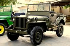 1943 Ford GPW military Jeep.