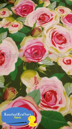 New by Dcf Polyester Fabric Light Pink 150cm Wide Peach  Rose Design