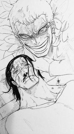 狂気的なドフ→鰐(※血注意)