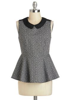 Turn of Phase Top, #ModCloth