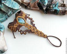 Macrame Slave Bracelet - Elikkäs tästä malli choker -kaulanauhaan