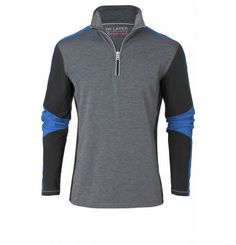Italian style and trendy patch details combine with functional fabrics for a high-performance midlayer you'll reach for again and again. The Rey zipped pullover features a brushed lining for added warmth and reflective detailing around the zipper that will help you stand out from the crowd while you show off your style. Ski Fashion, Mens Fashion, Sophisticated Style, Italian Style, Crowd, Skiing, Active Wear, Sportswear, Moda Masculina