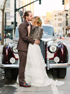 An antique car like a vintage Rolls-Royce is a glam way to get yourselves to the wedding ceremony and reception—and it'll create the perfect backdrop for classic black-and-white photo ops. Low Cost Wedding, Great Gatsby Wedding, Vintage Wedding Theme, Fall Wedding Shoes, Wedding Cars, Dream Wedding, Cars Vintage, Wedding Budget Breakdown, Wedding Venues In Virginia