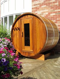 FREE DELIVERY on all Barrel Saunas throughout Eastern Ontario including Ottawa and the Valley, Almonte, Carleton Place, Kingston, Brockville, Belleville, and the Peterborough area.