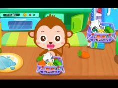 Baby Panda Gets Organized - Teach Children Learn How to Tidy up the room...