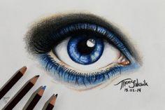 big_blue_eye how to draw blue
