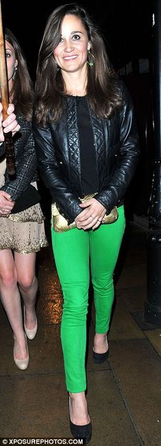 Pippa Middleton partying at No5 & LouLou's in London's Mayfair