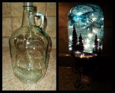 Van Gogh gets crafty...Starry Night Light