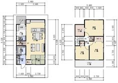 間取り 26坪 3LDK 畳コーナー Japanese House, House Floor Plans, My House, Flooring, How To Plan, Home Decor, Humor, Architecture, House Construction Plan