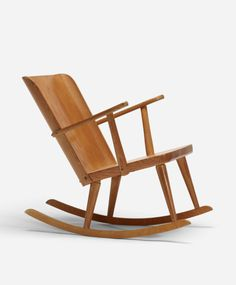 carl malmsten pine rocking chair c1945