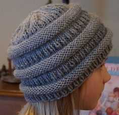 Creative Chicks: Slouchy knitted beanie knock-off