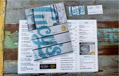 Script logotype and menus designed by Pentagram for Austin based fried chicken and oyster bar/restaurant Lucy's Chicken To Go, Chicken Menu, Chicken Art, Fried Chicken, Chicken Shack, Drink Menu Design, Restaurant Menu Design, Restaurant Branding, Restaurant Marketing
