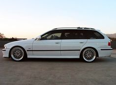 BMW E39 5 series wagon. All the yes's