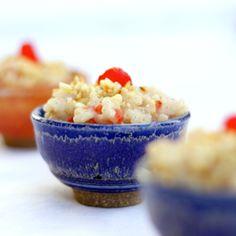 Almond Milk Rice Pudding    (genius!)