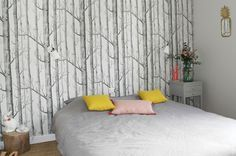 Barnabé aime le café - Hobbies paining body for kids and adult Boring To Death, Cole And Son Wallpaper, Art Of Glass, Wood Wallpaper, Great Hobbies, Home And Deco, Sweet Home, Curtains, Bedroom