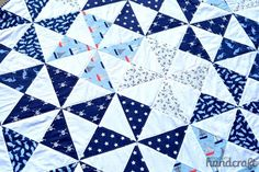 We have Nicole from Modern Handcraft visiting us on the blog today! She's sharing a beach quilt tutorial using the Seaworthy collection from Jack and Lulu – perfect for summertime! Seaworthy is in sto