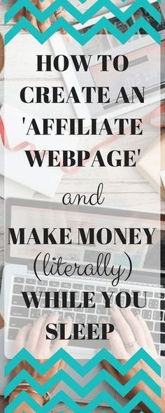 This post may contain affiliate links Do you want to really earn a passive income? Make money –literally– while you sleep? After the