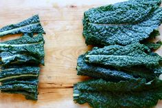 Kale chips, kale chips, kale chips