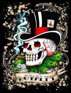 Skull Wallpaper, Wallpaper Pc, Wallpaper Backgrounds, Ed Hardy Designs, Ed Hardy Tattoos, Christian Audigier, Wolf Of Wall Street, Badass Skulls, Skull Pictures
