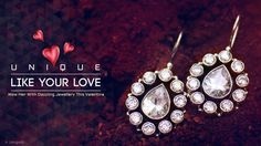 Wow your Loved one with dazzling Jewellery this Valentine. To shop Online, visit www.jangadi.com ‪#‎gojangadi‬ ‪#‎jangadi‬