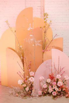 wedding backdrop Dance Royale- Design by Hello Gem Events Decoration Evenementielle, Decoration Inspiration, Color Inspiration, Decor Ideas, Photowall Ideas, Arte Floral, Event Styling, Event Decor, Altar