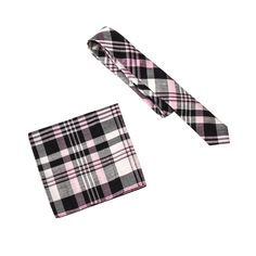Skinny Tie Madness Men's Tony Harding's Bad Side Tie Pocket Square