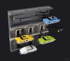 Micro-scale Lego Fifth Element diorama by Tiler
