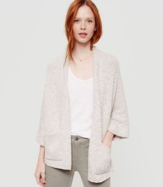Image of Lou & Grey Snowdust Cardigan color Milk White