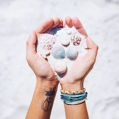 Pinterest: iamtaylorjess | Seashells & sand #summer