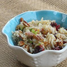 Tired of Potato and Macaroni salads for picnics and outings. This rice salad is a great alternative. It is light and has less calories than mayo base cold salads