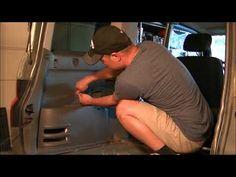 Removing rear inside panel on Honda Element - YouTube