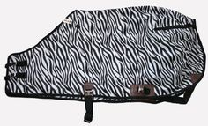420 Denier Horse Stable Sheet Open Front Zebra Print by AJ. $38.00. 420 Denier nylon stable sheet. Zebra Print with black trim. To Measure Your Horse: Measure from the center of your horse's chest, along the side of the barrel to the point just before the tail. This is your horse's blanket size. If your horse is between sizes, round up to the next size.