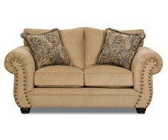 Best I Found A Freeport Slate Memory Foam Sofa At Big Lots For 400 x 300