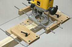 Router Morticing Jig